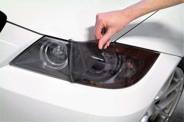 Bumper Paint Protection Film For Audi a3 8l to 2003 Chrome Foil