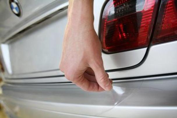 """Rear Bumper Guard - Clear 4"""" x 48"""" Universal"""