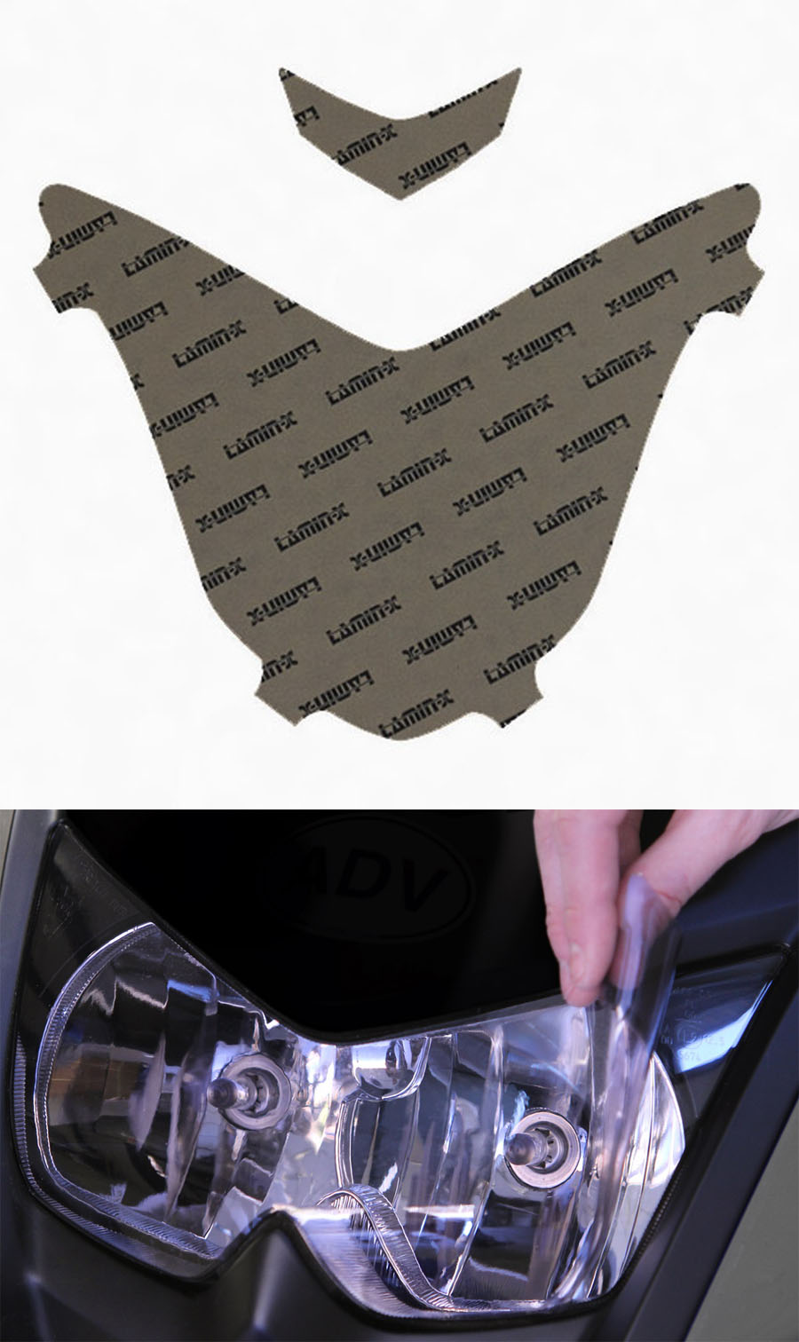 Lamin-x B505CL Headlight Cover