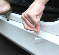 Get paint protection for your door sills with a Lamin-x Door Sill Guard kit