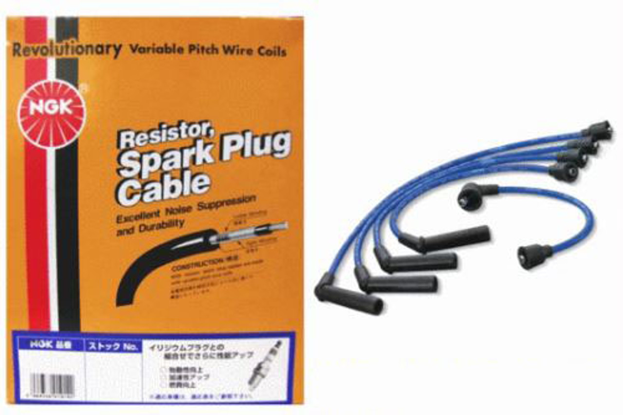 Tune Up Kit NGK Engine Spark Plugs Ignition Spark Plug Wire Set for Subaru