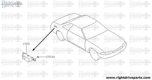 17001 - modulator, fuel pump control - BNR32 Nissan Skyline GT-R