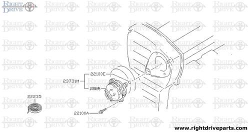 22235 - tape, seal distributor - BNR32 Nissan Skyline GT-R