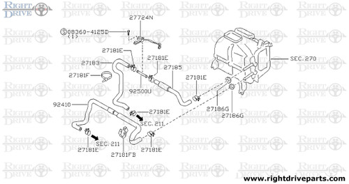 27181FB - clip - BNR32 Nissan Skyline GT-R