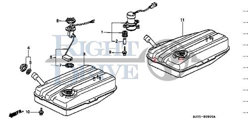 PACKING BASE - #7 - 37801 - Honda Acty HA4