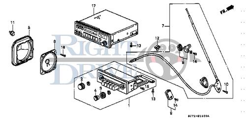 SCREW, TAPPING 4X25 - #16 - 93903 - Honda Acty HA4