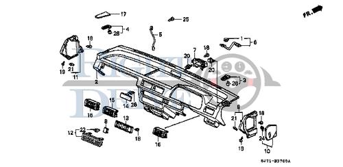 SCREW, TAPPING 4X16(PO) - #18 - 93913 - Honda Acty HA4
