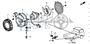NUT, HEX 5MM(MITSUBA) - #11 - 90041 - Honda Acty HA4