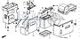 BATTERY ASSY. (38B20R-MF) (YUASA) - #4 - 31500 - Honda Acty HA4