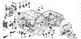 NUT WASHER 6MM - #33 - 94071 - Honda Acty HA4