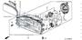 SCREW, TAPPING 3X16 - #11 - 93901 - Honda Acty HA4