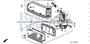NUT, FRONT COMBINATION LIGHT - #19 - 90303 - Honda Acty HA4