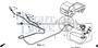 TUBE, VINYL, 4X7X620 (95003-07001-60M) - #15 - 95003 - Honda Acty HA4
