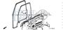 CLIP. CANOE - #22 - 90664 - Honda Acty HA4