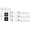 Glass Fronted DMX Controller 4 Zones plus Wifi Control