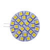 .24 Led Cool White G4 Disk Side Pin 4.3w=50w