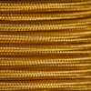 Braided Fabric Flex Cable Gold