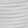 Braided Fabric Flex Cable White