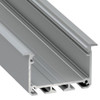 APIS with Trim Channel Profile 30 x 53 - 3 Metre Length Silver