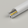 Circular Aluminium Channel 206 20.6mm - 3 Metre Length