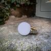 G45 Golf Ball Shape Shatterproof Festoon Lamp, Cool White 6000K, B22