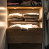 Ready to Connect LED Furniture Lighting Kit - 3 Door Sensor Light Bars, Neutral White (Including power supply)