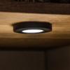 Surface Mounted Puck Furniture Spotlight, Black