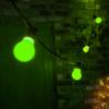 LED Festoon Bulbs – Green Classic GLS 1W (B22/BC) - Weatherproof