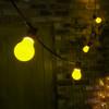 Weatherproof LED Festoon Bulbs, Classic GLS, Yellow