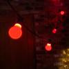 GLS Shape Shatterproof Festoon Lamp, Red, B22