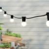 20 metre, 40 Golf Ball Lamp Festoon String, 500mm Spacing with 40 bulbs, B22, Warm White2