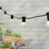 20 metre, 40 Golf Ball Lamp Festoon String, 500mm Spacing with 40 bulbs, B22, Warm White1