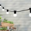 20 metre, 40 Golf Ball Lamp Festoon String, 500mm Spacing with 40 bulbs, B22, Cool White2