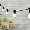 20 metre, 40 GLS Lamp Festoon String, 500mm Spacing with 40 bulbs, B22, Cool White1
