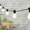 20 metre, 40 GLS Lamp Festoon String, 500mm Spacing with 40 bulbs, B22, Warm White2