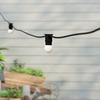 50 metre, 50 Golf Ball Lamp Festoon String, 1000mm Spacing with 50 bulbs, B22, Warm White1
