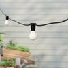50 metre, 50 GLS Lamp Festoon String, 1000mm Spacing with 50 bulbs, B22, Warm White1