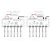 Professional 24 Channel LED RDM DMX512 Decoder 3 Pin XLR