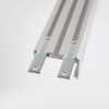 3043 APIS Connectable Suspendable Aluminium Channel, Silver, 2 Metre Length