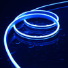 Easy to Use Top View Micro LED Neon Flex 4x10mm, Blue, 5m Kit
