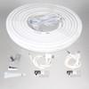 Midi Side View 13x12mm LED Neon Flex, Warm White 3000K, 10m Kit
