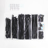 735 Piece Cable Tie and Self-Adhesive Tie Mount Kit