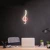 Clef Music Note LED Neon Sign