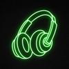 Headphone LED Neon Sign