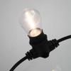 Clear S14 Shatterproof Festoon Lamp, 3000K Warm White, B22