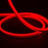 Essential Mini LED Neon Flex , 10x15mm, Horizontal Bend, Red, 50 Metre Reel