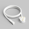5 Metre, 10 Clear Filament GLS Lamp Connectable White Festoon String, 500mm Spacing with 10 bulbs, B22, Warm White6