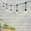 10 Metre Drop Pendant Connectable Festoon String with 20 GLS Clear Filament Lamps, Warm White2