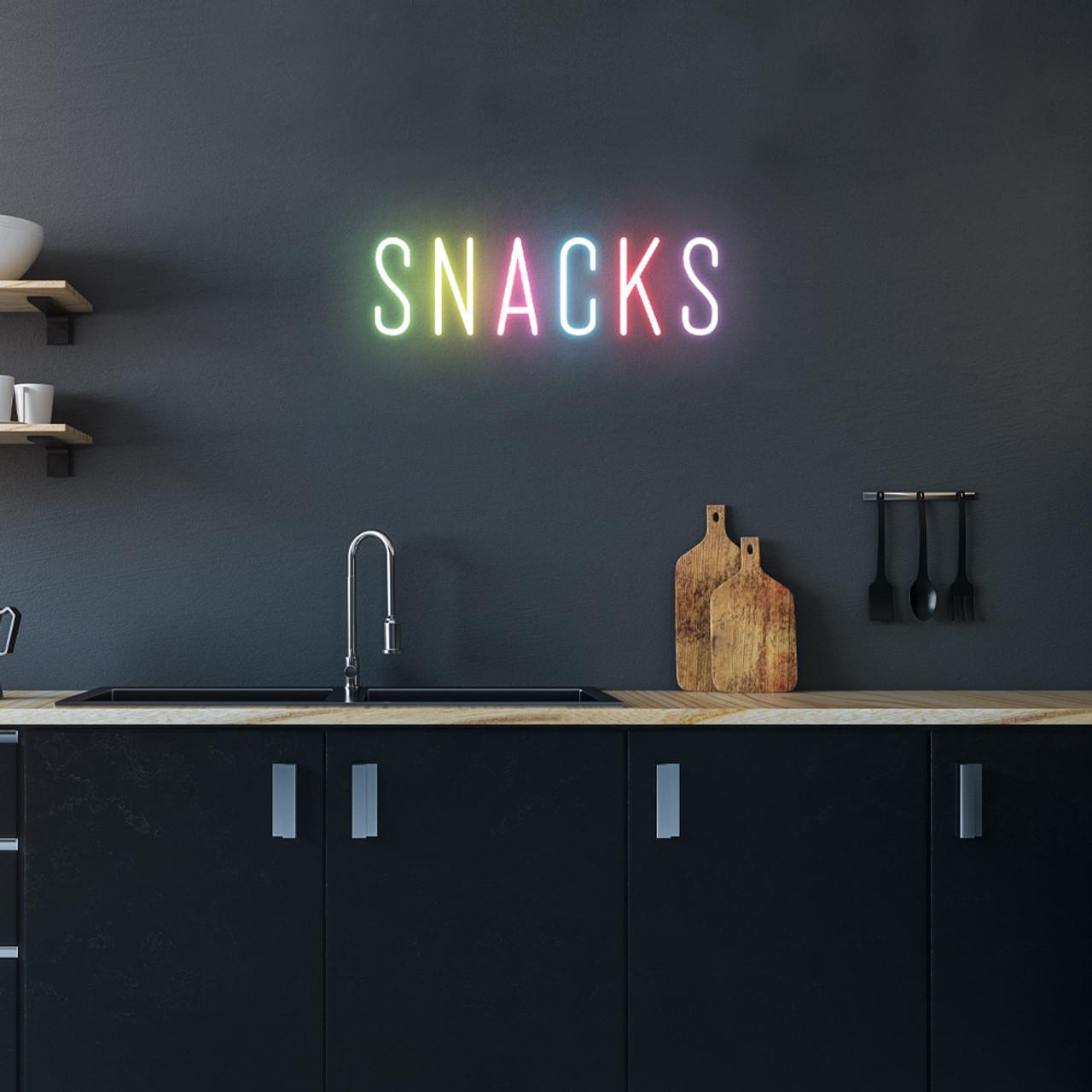 Snacks Led Neon Sign Ultraleds