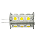 G4 DC 10-24V 18 Led Cool White Led Bulb 2.4w=35W Type A